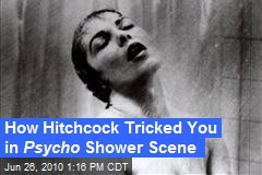 How Hitchcock Tricked You in Psycho Shower Scene