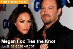 Megan Fox Ties the Knot