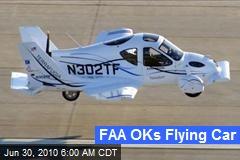 FAA OKs Flying Car
