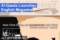 Al-Qaeda Launches English Magazine
