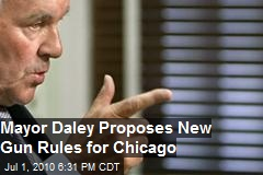 Mayor Daley Proposes New Gun Ordinance for Chicago