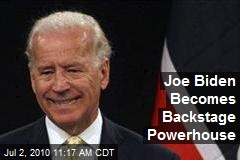 Joe Biden Becomes Backstage Powerhouse