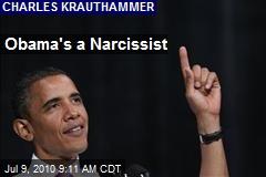 Obama's a Narcissist
