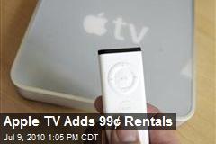 Apple TV Adds 99¢ Rentals