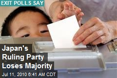 Japan's Ruling Party Loses Majority
