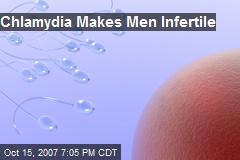 Chlamydia Makes Men Infertile