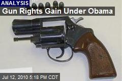 Gun Rights Gain Under Obama