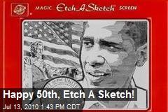 Happy 50th, Etch A Sketch!