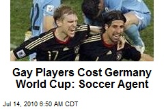 Soccer Manager: Gay Players Cost Germany World Cup