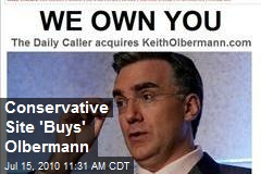 Conservative Site 'Buys' Olbermann