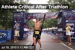 Athlete Critical After Triathlon