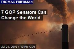 7 GOP Senators Can Change the World