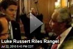 Luke Russert Riles Rangel