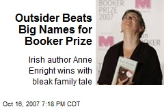 Outsider Beats Big Names for Booker Prize