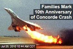 Families Mark 10th Anniversary of Concorde Crash