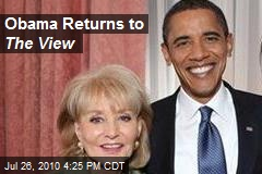 Obama Returns to The View