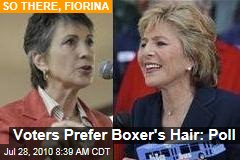 Voters Prefer Boxer's Hair: Poll