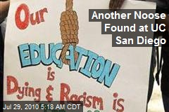 Another Noose Found at UC San Diego