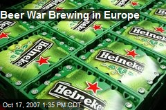 Beer War Brewing in Europe