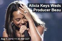 Alicia Keys Weds Producer Beau