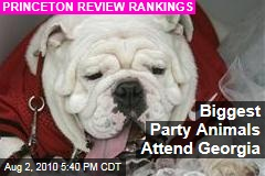 Biggest Party Animals Attend Georgia
