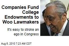 How to Win Friends and Stroke Egos in Congress