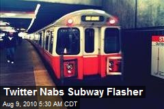 Twitter Nabs Subway Flasher