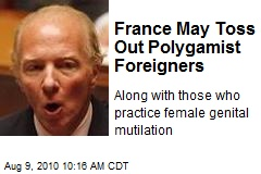 France May Toss Out Polygamist Foreigners