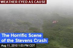 The Horrific Scene of the Stevens Crash