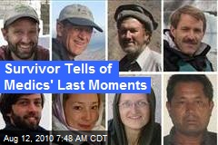 Survivor Tells of Medics' Last Moments