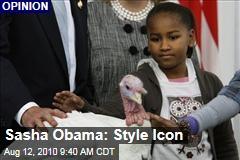 Sasha Obama: Style Icon
