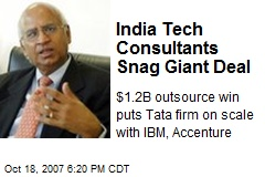 India Tech Consultants Snag Giant Deal