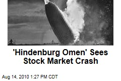 'Hindenburg Omen' Sees Stock Market Crash