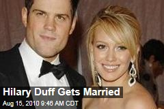 Hilary Duff Gets Married
