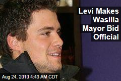 Levi Makes Wasilla Mayor Bid Official
