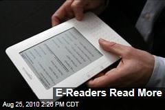 E-Readers Read More