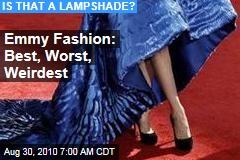 Emmy Fashion: Best, Worst, Weirdest