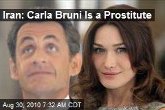 Iran Calls Bruni a Hooker