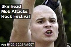 Skinhead Mob Attacks Russian Rock Festival