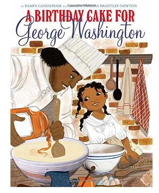 Scholastic Pulls Kids Book on Washington Slaves, Cake