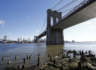 Guy Jumps From Brooklyn Bridge, Lives