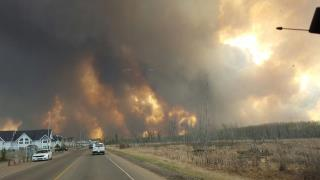 Canada Wildfire Torches 1.6K Homes