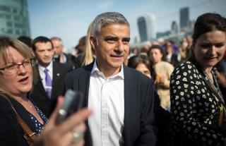 London's Muslim Mayor Rejects Trump's 'Ignorant View'