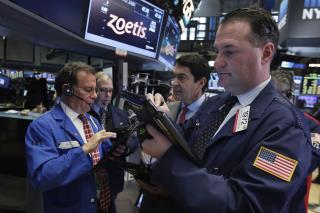 Dow Ends Day Down 217