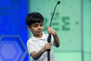 Scripps Spelling Bee's 6-Year-Old Competitor Says Goodbye