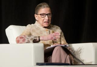 Justice Ruth Bader Ginsburg Definitely Isn't a Trump Fan