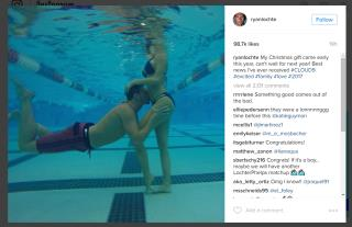 Baby Will Make 3 for Ryan Lochte, Fiancee