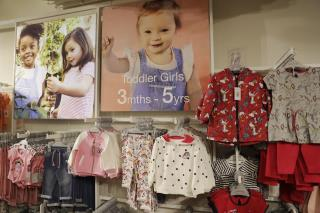 Toddler With Down Syndrome Models for British Retailer
