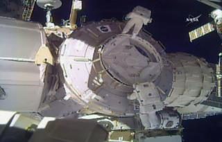 Space Station Shield Lost During Spacewalk