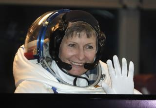 Peggy Whitson Sets a NASA Milestone in Space